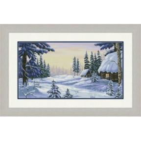 """Набор для вышивания крестиком OLanTa """"Вечер на Рождество""""  VN-172"""