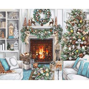 Рождественский Интерьер Набор для вышивки Luca-S B2394