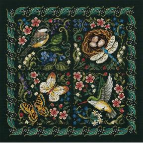 The Finery Of Nature Набор для вышивания крестом Dimensions 03824