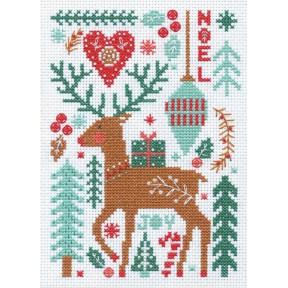 Nordic Winter Набор для вышивания крестом Dimensions 70-08991