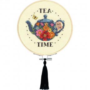 Tea Time Набор для вышивания крестом Dimensions 72-76291