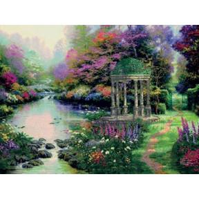 Набор для вышивки Candamar Designs 51306 Garden of Prayer фото