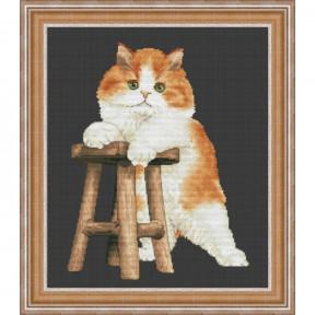 """Набор для вышивания крестиком OLanTa  """"Мой котенок""""  VN-178"""