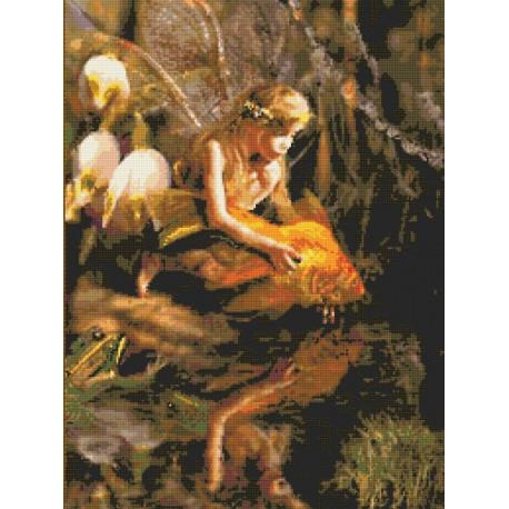 Набор для вышивания Kustom Krafts 98987 Золотая фея фото