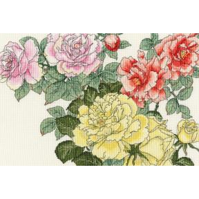 Роза цветет Bothy Threads Набор для вышивания крестом XBD13