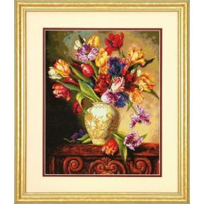 Набор для вышивания Dimensions 70-35305 Parrot Tulips