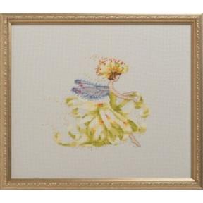 Mum Flower Girl / Мама цветочница Nora Corbett Схема для вышивания крестом NC286