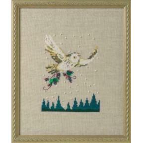 Winter Owl / Зимняя сова Nora Corbett Схема для вышивания крестом NC275