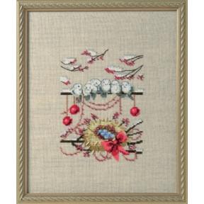 Winter Owl / Зимнее гнездо Nora Corbett Схема для вышивания крестом NC276