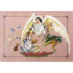Guardian Angel / Ангел Хранитель Mirabilia Designs Схема для вышивания крестом MD72