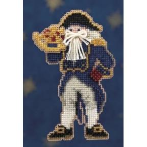 Санта капитан Mill Hill Набор для вышивания крестом MH200301