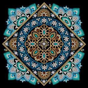 Мандала богатства Рисунок на ткани Марічка  РКК-055