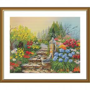 Таинственный сад Набор для вышивки крестом Нова Слобода СР4241