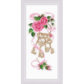 Ключи к дому Набор для вышивания крестом Риолис 1929