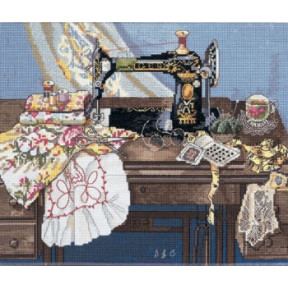 Набор для вышивки Candamar Designs 51265 Sewing With Mama фото