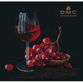 Бокал вина Набор для вышивки крестом Овен 1404о
