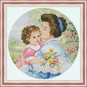 Набор для вышивания крестиком OLanTa Нежный поцелуй VN-180