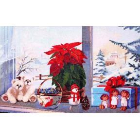 Набор для вышивки крестиком Dantel  009 Рождество