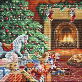 Уютное Рождество LETISTITCH Набор для вышивания крестом L 8009