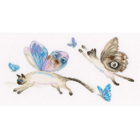 Летучие коты Набор для вышивки крестиком RTO M847