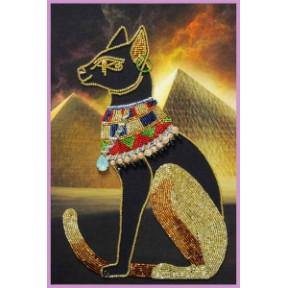 Набор для вышивания бисером Картины Бисером Египетская богиня Баст Р-430