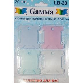 Бобины пластиковые для мулине Гамма LB-20