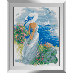 Набор алмазной живописи Dream Art Взгляд на море 31595D