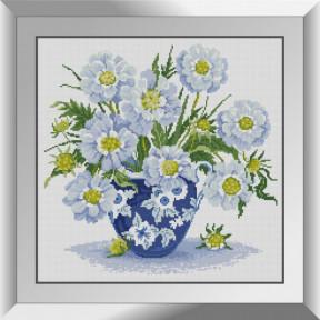 Набор алмазной живописи Dream Art Голубой букет 31609D