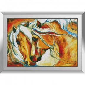 Набор алмазной живописи Dream Art Лошади 31611D