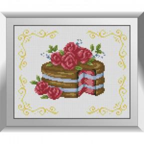 Набор алмазной живописи Dream Art Тортик с розами 31617D