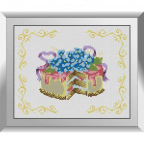 Набор алмазной живописи Dream Art Тортик с незабудками 31618D