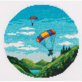 Парашютизм Набор для вышивки крестом Panna ST-7225