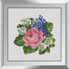 Набор алмазной живописи Dream Art Букетик с полевыми цветами 31623D