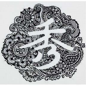 Расцвет жизни Набор для вышивки крестом Panna I-1912