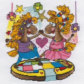 Танцпол Набор для вышивки крестом Panna VK-1561
