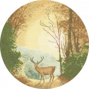 Autumn Light Набор для вышивания крестом Heritage Crafts H268