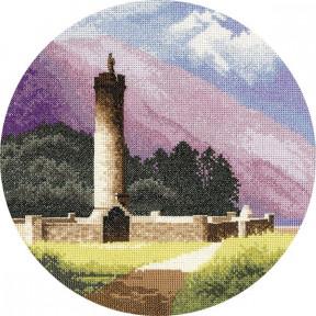 Bonnie Prince Charlie's Monument Набор для вышивания крестом Heritage Crafts H951