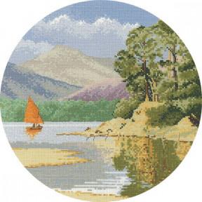 Calm Waters Набор для вышивания крестом Heritage Crafts H595
