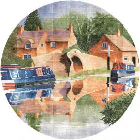 Canal Reflections Набор для вышивания крестом Heritage Crafts H947