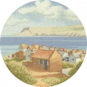 Coastal Village Набор для вышивания крестом Heritage Crafts  H270