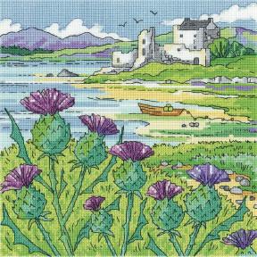 Thistle Shore Набор для вышивания крестом Heritage Crafts H1561