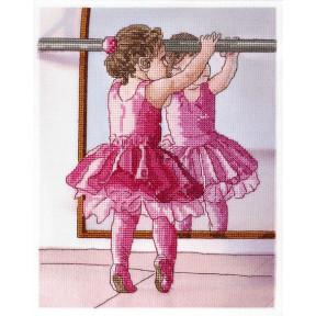 Набор для вышивки крестом Alisena 5115 Балеринка