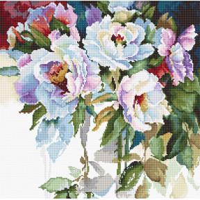 Белые розы Набор для вышивки крестом Luca-S B2400