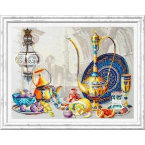 Яркие краски Марокко Набор для вышивки крестом Чудесная игла 120-301