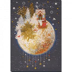Рождественская сказка Набор для вышивки бисером Абрис Арт АВ-829