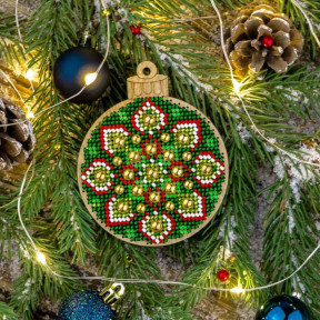 Набор для вышивания бисером по дереву Волшебная страна FLK-395