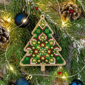 Набор для вышивания бисером по дереву Волшебная страна FLK-396