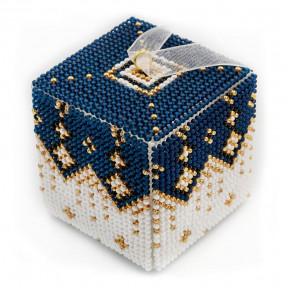 Набор для вышивания бисером объемной новогодней игрушки Golden Key N-011