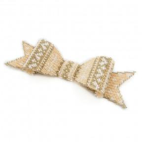 Набор для вышивания бисером объемной новогодней игрушки Golden Key N-015