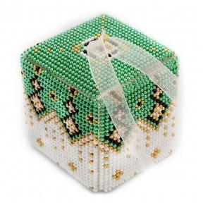 Набор для вышивания бисером объемной новогодней игрушки Golden Key N-016